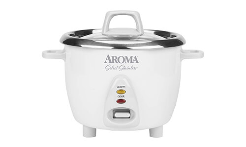 Product 1 Aroma Housewares Select Stainless Rice Cooker XS