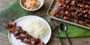 BBQ with Rice