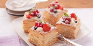 Berry Puff Pastry Tarts