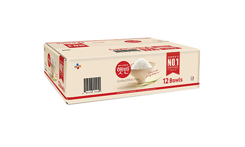 Product 1 CJ Rice Microwaveable White Rice XS