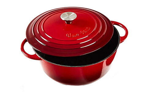 Product 5 Uno Casa Enameled Cast Iron Dutch Oven XS
