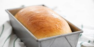Bread on a load pan