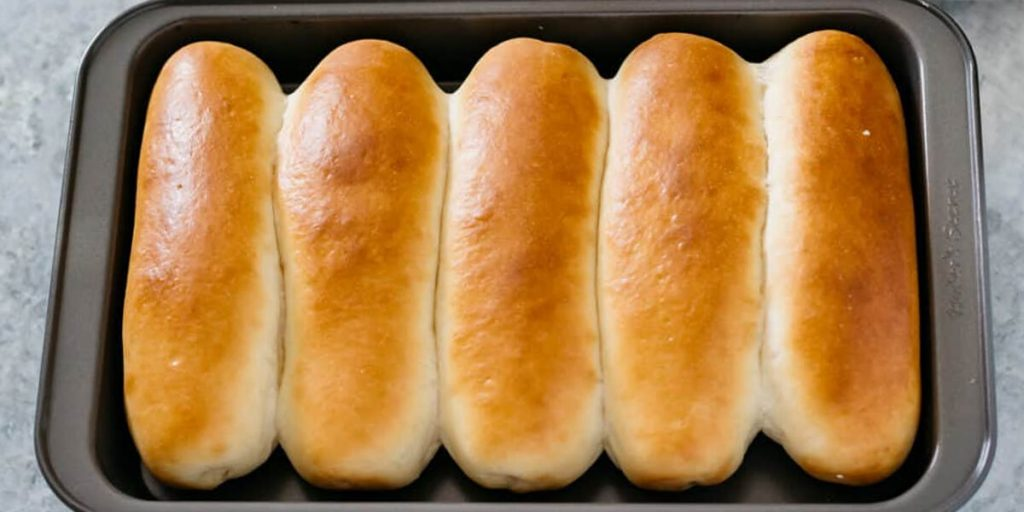 Newly baked 5 breads