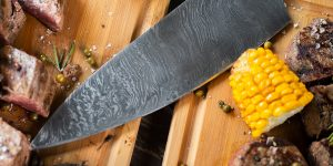 best damascus chef knives review XS