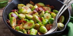 maple bacon brussels sprouts recipe XS