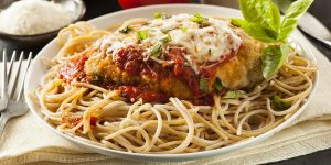 Easy Baked Parmesan Chicken XS
