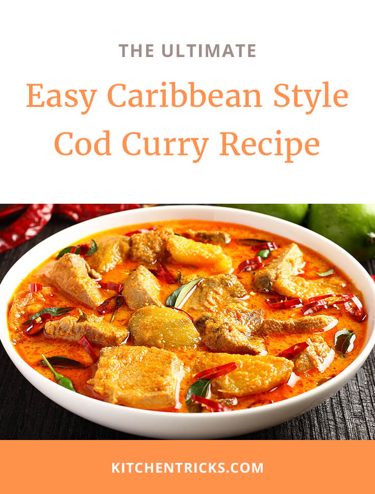 Easy Caribbean Style Cod Curry Recipe 2 XS