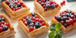 puff pastry desserts with berries recipe