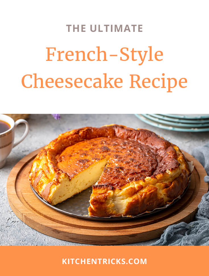 French-Style Cheesecake Recipe-2